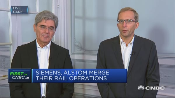 Siemens-Alstom rail merger a 'unique opportunity'