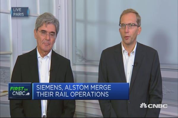 Siemens-Alstom rail merger a 'unique opportunity'