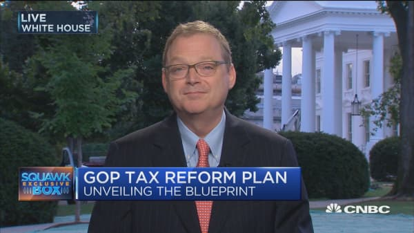 GOP tax plan brings growth back: CEA Chair Kevin Hassett