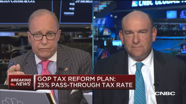 Doubling the standard deduction is huge: Kudlow on GOP tax reform plan