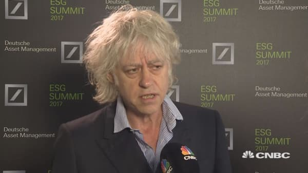 Bob Geldof on US climate change agreement withdrawal