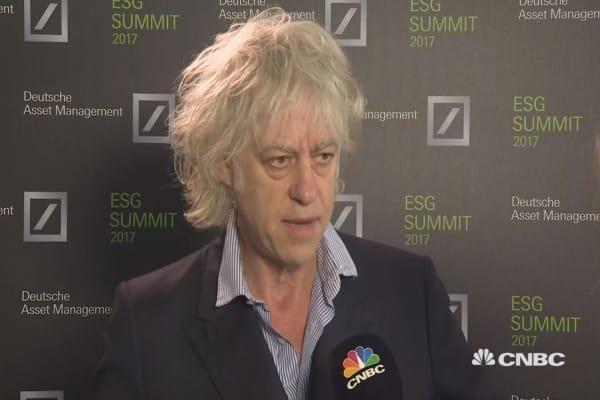 Brexit was a 'historic mistake,' Bob Geldof says