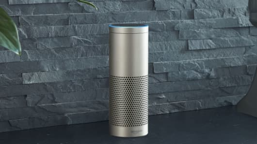 The new Amazon Echo Plus, which doubles as a smart home hub