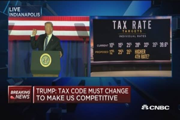 Trump: More people will see a 0% tax rate