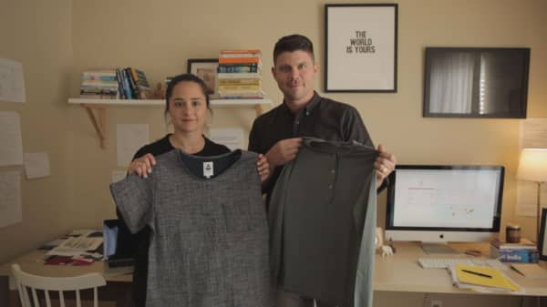 This couple quit their desk jobs and started a clothing business. Now they're reaching the $800,000 revenue mark