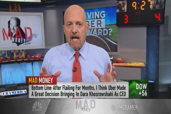 Cramer: Why Uber made the right call with its new CEO