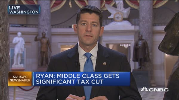 Rep. Paul Ryan: Tax reform 'clearly' a hard lift