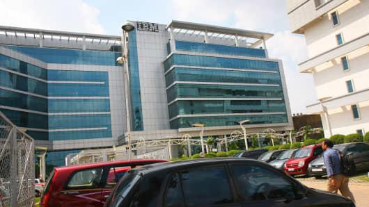 The IBM Building in Bangalore, India