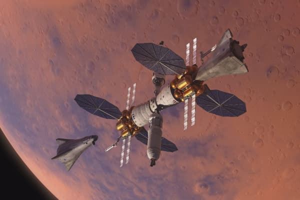 Lockheed Martin unveils fully reusable crewed Martian lander