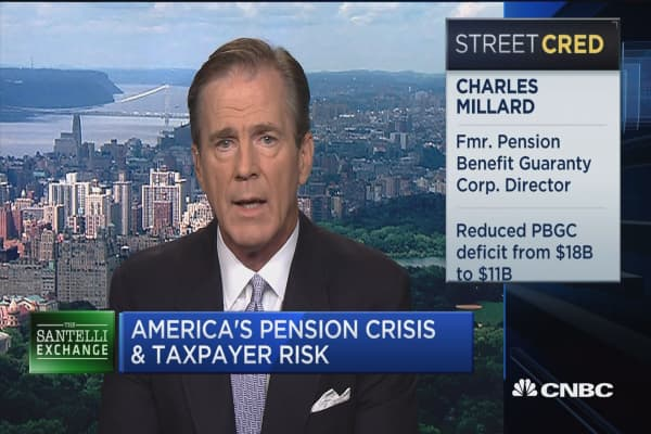 Santelli Exchange: America's pension crisis and taxpayer risk