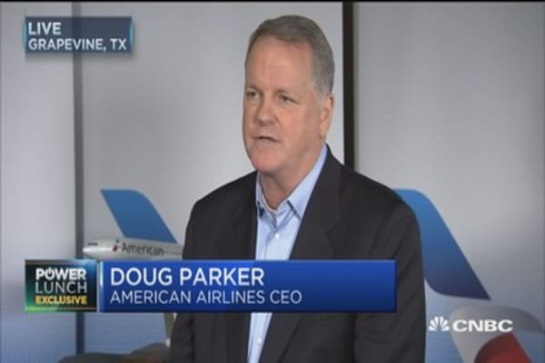 We have a business that will profit in good and bad times: American Airlines CEO