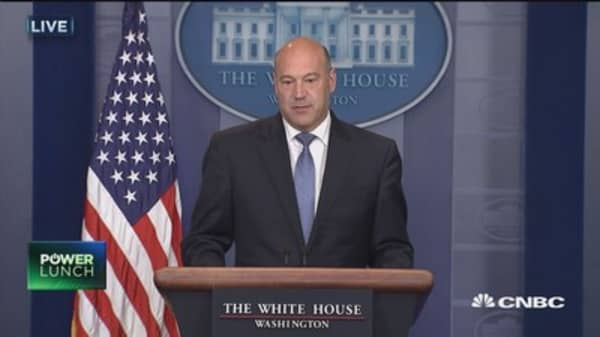 NEC's Gary Cohn: Our plan is based on lower rates and expanding the base
