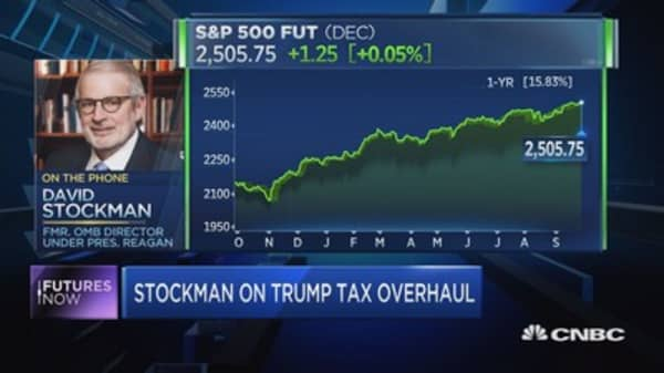 Stockman: Stocks to plummet 40-70%