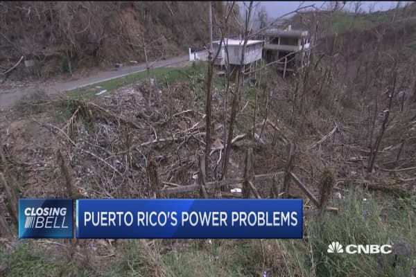 Puerto Rico's power problems