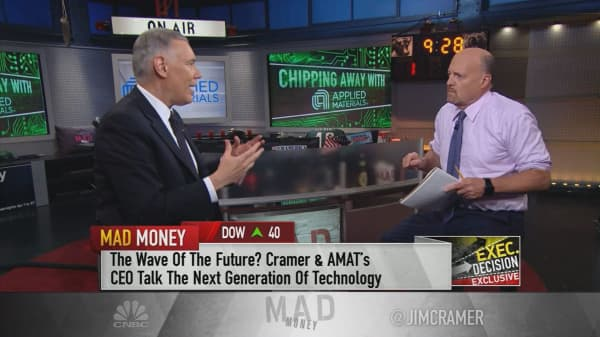 The war for A.I. leadership will be 'the biggest battle of our lifetime,' says Applied Materials CEO