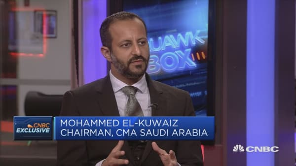 Saudi market can become one of world's biggest, CMA chairman says