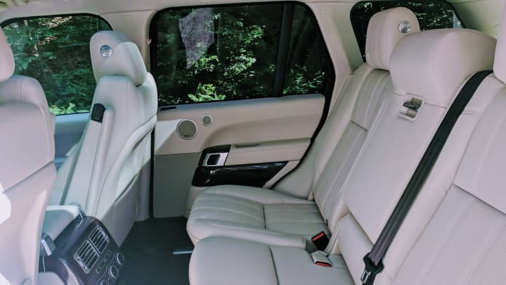 The Range Rover has plenty of space for your friends to ride along
