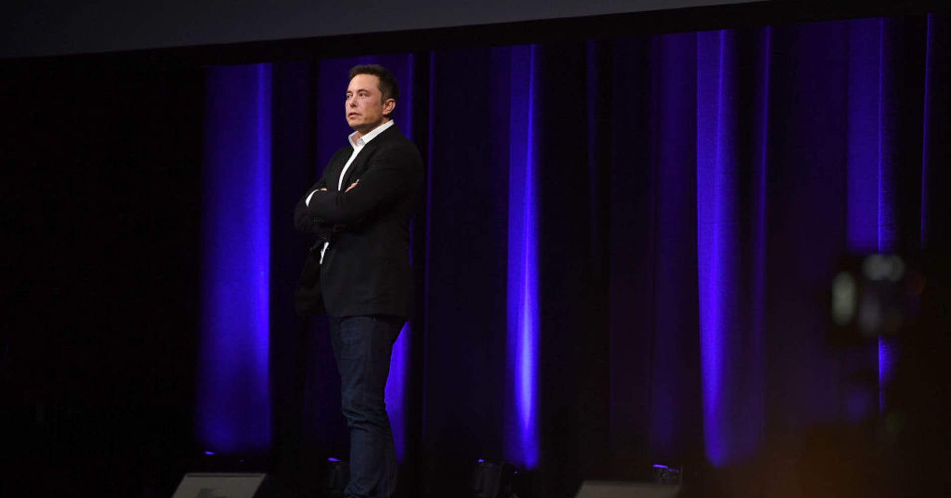 SpaceX CEO Elon Musk at the International Astronautical Congress on September 29, 2017 in Adelaide, Australia.