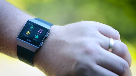 The Fitbit Ionic has a few apps, with more to come
