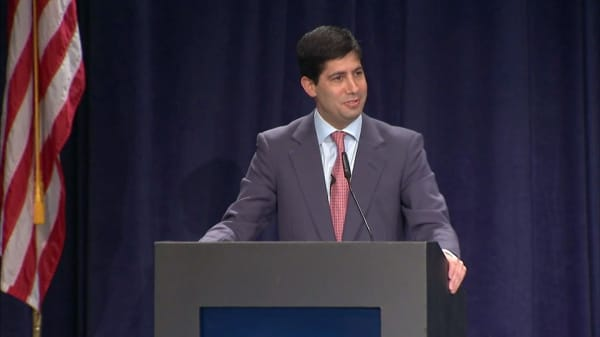 Trump met with Kevin Warsh amid quest to fill Fed chair job