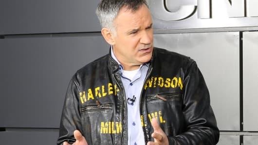 Matt Levatich, CEO of Harley-Davidson Motor Co.