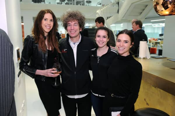 Pamela Sisson, James Altucher, Josie Altucher and Pamela Rothenberg.