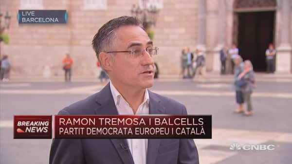 Spanish state a 'so-called democracy' really totalitarian: Tremosa