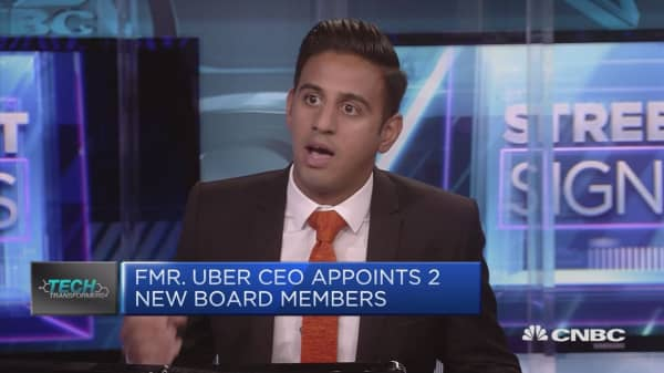 New Uber CEO's first big test is London