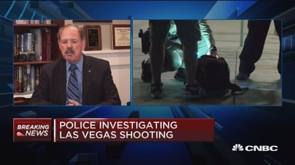 Las Vegas law enforcement search for motive: Former FBI profiler