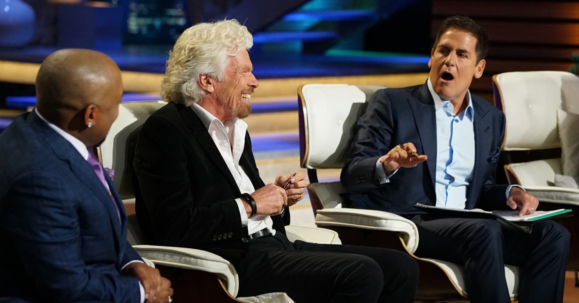 Shark Tank Episode 903, things get fiery in the Tank when Sir Richard Branson vents his frustration with Mark Cuban in a shocking, never-before-seen way.