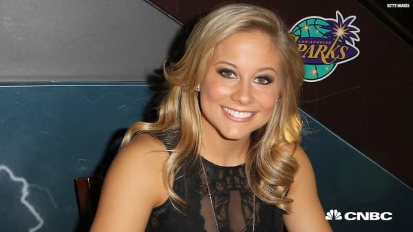 The best advice Olympian Shawn Johnson East received has carried her far beyond gymnastics