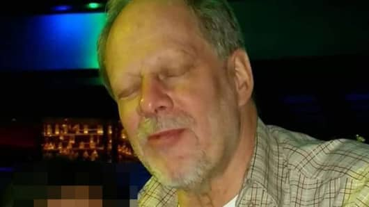 A file photo of Stephen Paddock who was the confirmed shooter in Las Vegas.