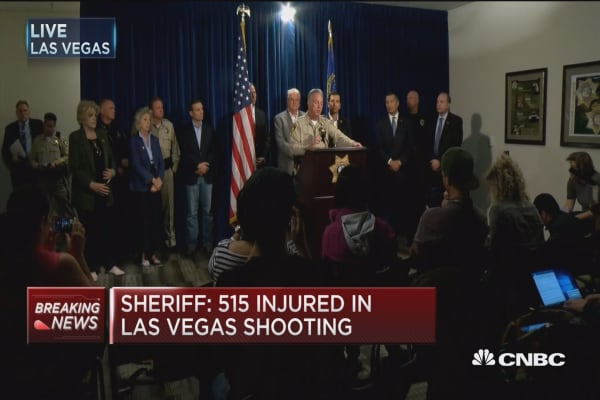 Clark County Sheriff: Shooter brought weapons in on his own