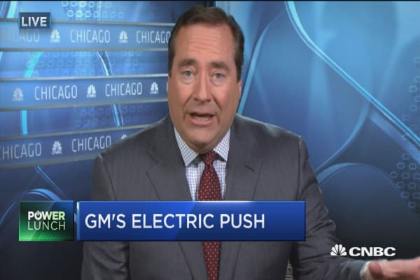 General Motors ramps up electric vehicle push