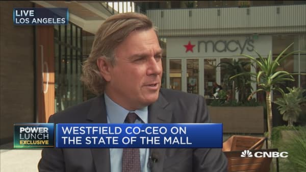The reports of demise of the mall have been exaggerated: Westfield co-CEO