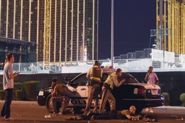 I'd like to find out  where he got the machine gun: Vegas gunman's brother