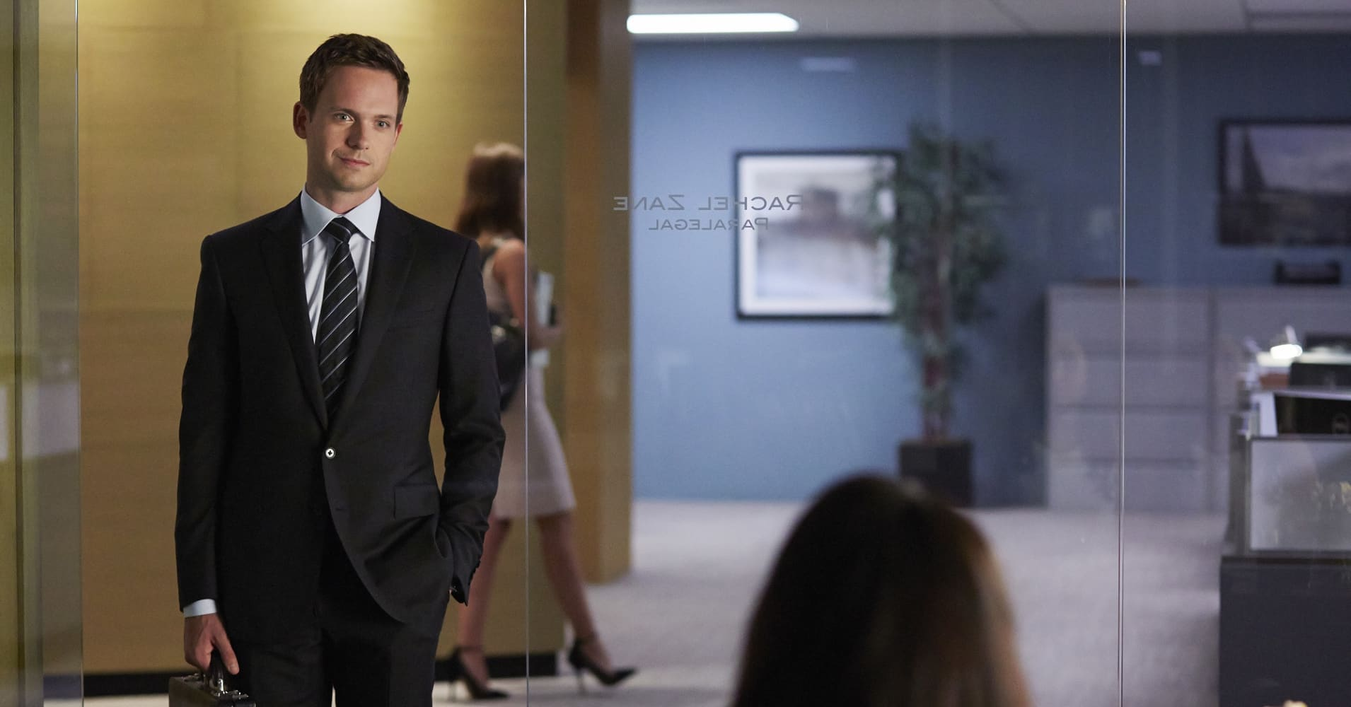 Patrick J. Adams as Michael Ross on 'Suits'