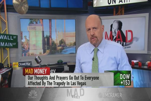 Cramer: Here's what's driving the market higher despite tragedy, turmoil and terror
