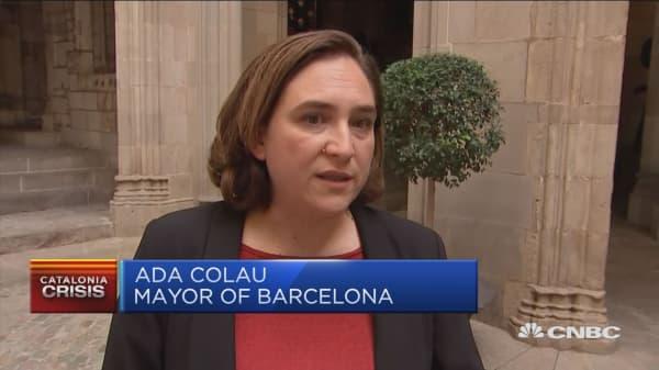 Barcelona mayor: Spanish President Rajoy must step down