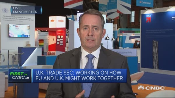 Brexit The Uk Will Not Cut And Paste Eu Trade Deals Liam Fox Says