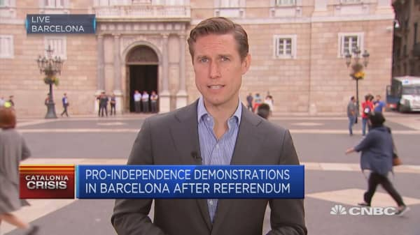 Finalized vote count for Catalan independence vote at the end of the week