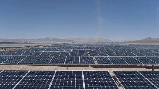 Solar energy is fastest growing source of power""
