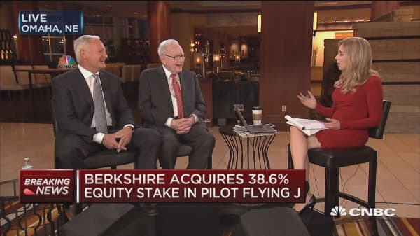 Berkshire Hathaway Will Acquire A 386 Percent Equity Stake In