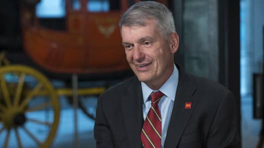 Tim Sloan, president and chief executive officer of Wells Fargo & Co.