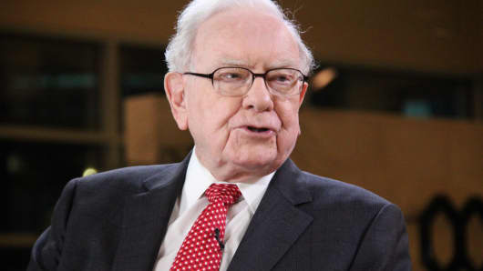 Warren Buffett, Chairman and CEO of Berkshire Hathaway.