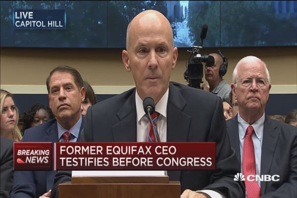 Former Equifax CEO Richard Smith: Criminal hack on my watch and I take full responsibility