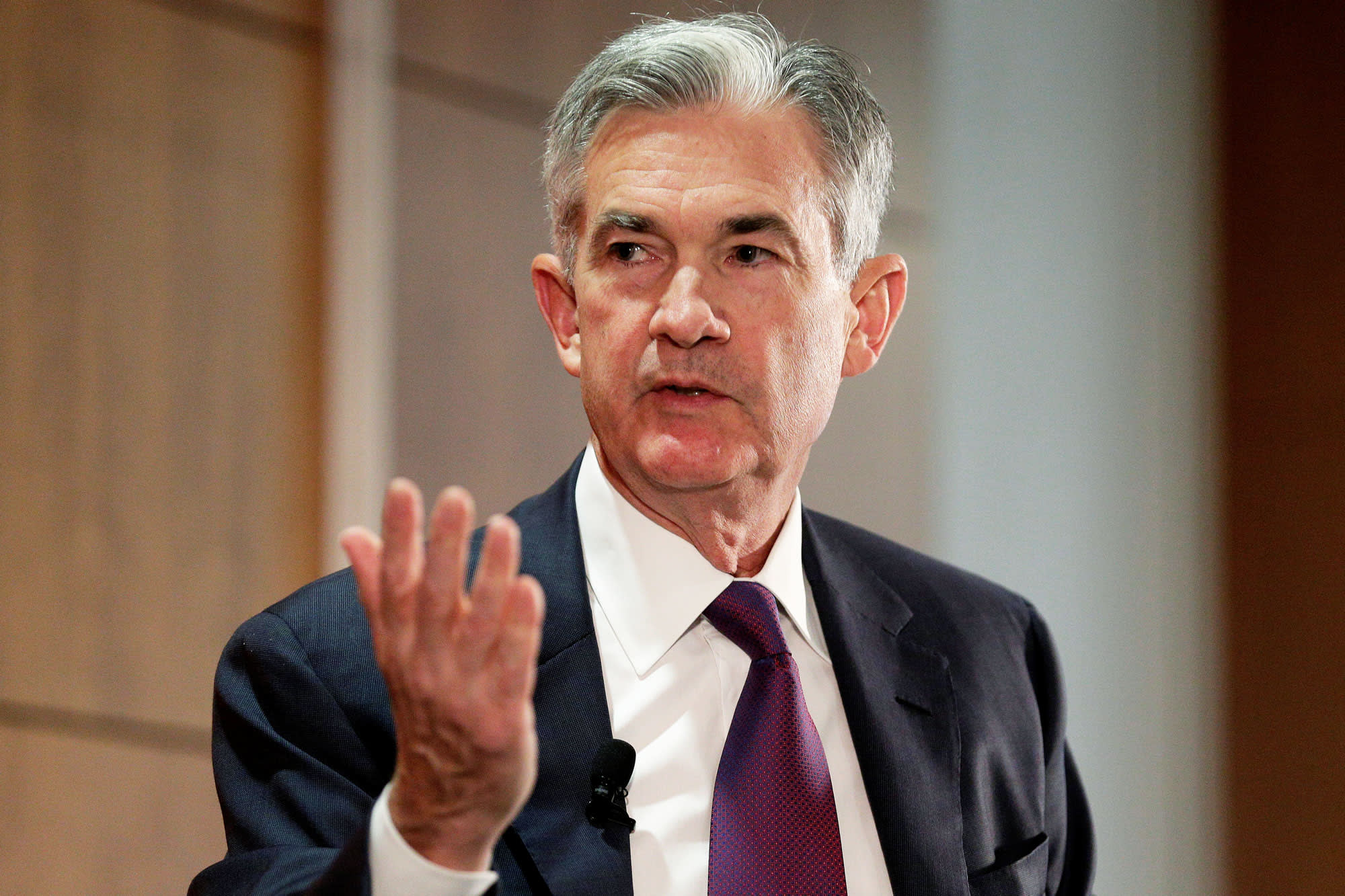 Image result for jerome powell