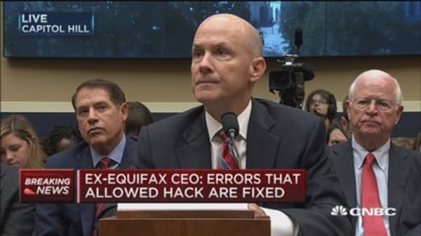 Former Equifax CEO Richard Smith: It's time to give power back to consumer on credit data access