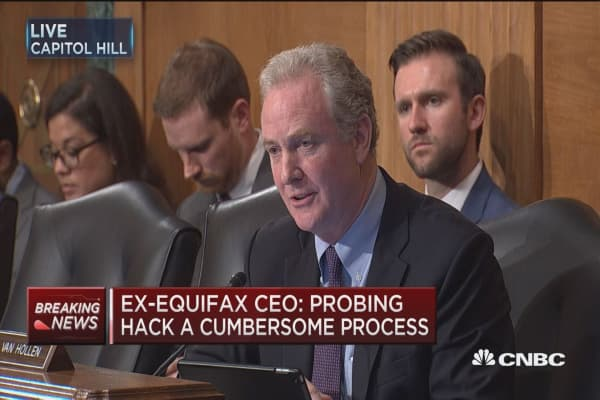 Sen. Van Hollen to Wells Fargo CEO Tim Sloan: Don't you understand why class action suits make sense?