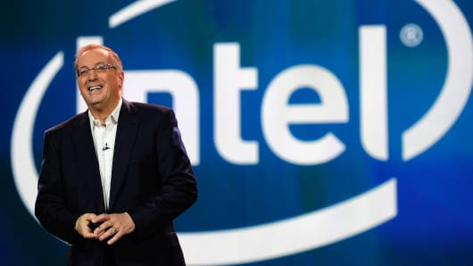 Paul Ortellini, former President and CEO of Intel.